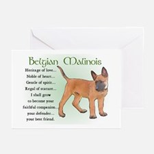 Belgian Malinois Greeting Cards (Pk of 10)