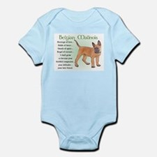 Belgian Malinois Infant Bodysuit