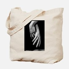 Hands Intertwined Tote Bag