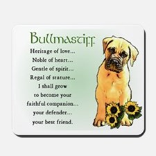 Bullmastiff Mousepad