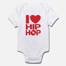 I Love Hip Hop Infant Bodysuit
