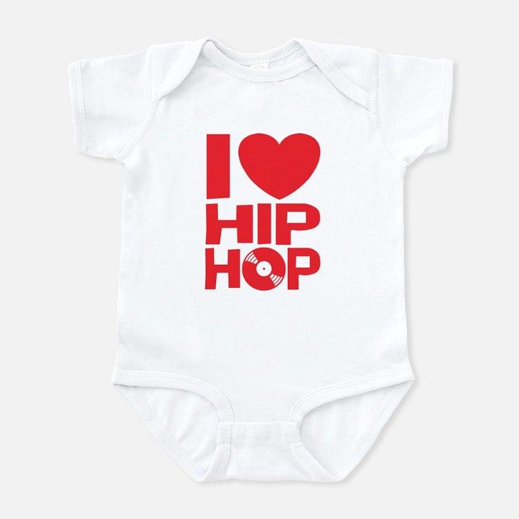 I Love Hip Hop Infant Bodysuit