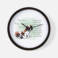 Cavalier King Charles Wall Clock