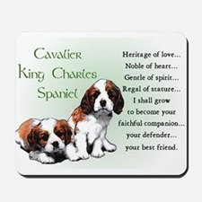 Cavalier King Charles Mousepad