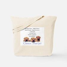 Shar-Pei Puppies Tote Bag