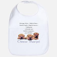 Shar-Pei Puppies Bib