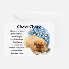 Chow Chow Greeting Cards (Pk of 10)