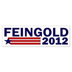 Draft Feingold 2012 Bumper Bumper Sticker