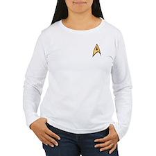 Star Trek Command Logo Women's Long Sleeve T-Shirt