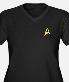 Star Trek Command Logo Women's Plus Size V-Neck Da