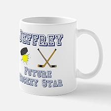 Jeffrey - Future Hockey Star Mug