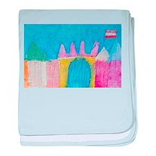 Annabelle's Castle baby blanket