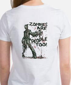 Zombie People 2 Sided Tee