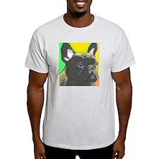 Brindle French Bulldog T-Shirt