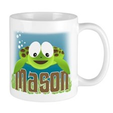 Adorable Mason Turtle Mug