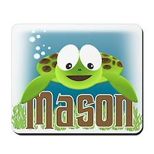 Adorable Mason Turtle Mousepad