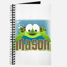 Adorable Mason Turtle Journal