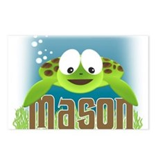 Adorable Mason Turtle Postcards (Package of 8)