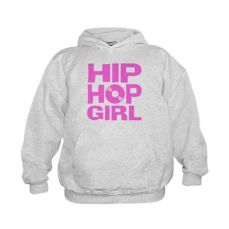 Hip Hop Girl Kids Hoodie