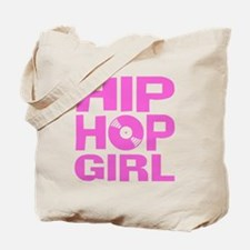 Hip Hop Girl Tote Bag