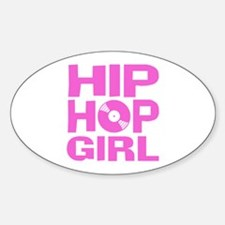 Hip Hop Girl Decal