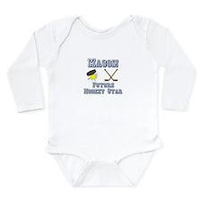 Mason - Future Hockey Star Long Sleeve Infant Body