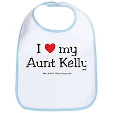 I Love Aunt Kelly Bib