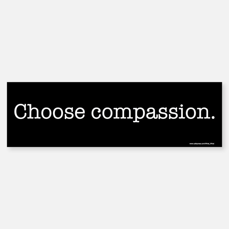 Choose Compassion Bumper