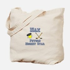 Max - Future Hockey Star Tote Bag