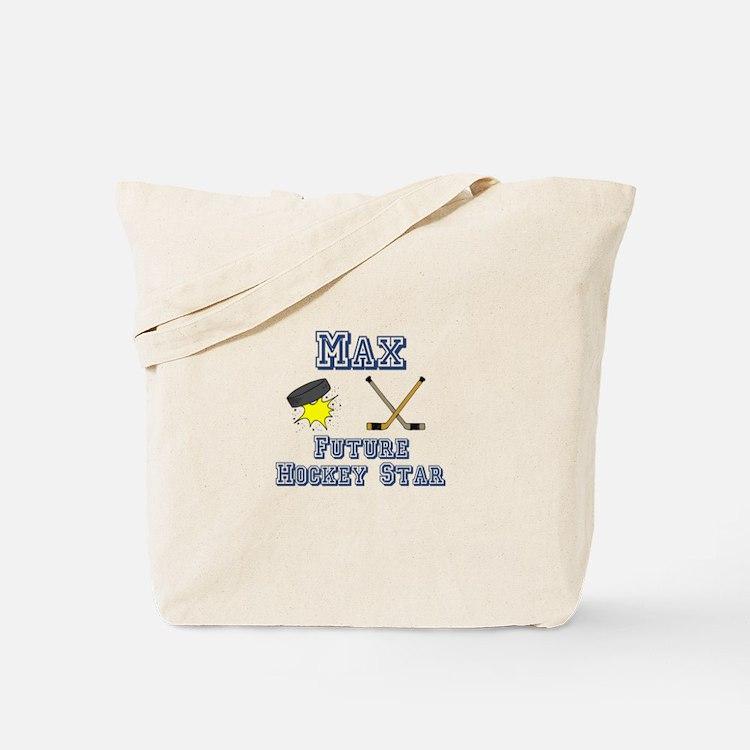 Max - Future Hockey Star Tote Bag