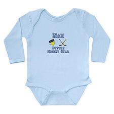 Max - Future Hockey Star Long Sleeve Infant Bodysu