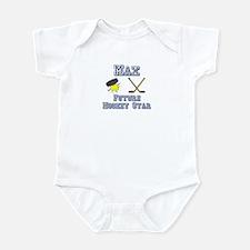 Max - Future Hockey Star Infant Bodysuit