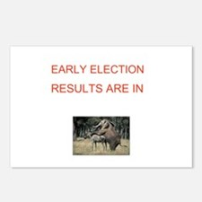 Unique Election results Postcards (Package of 8)