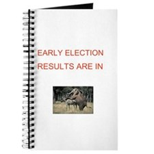 Cute Election results Journal