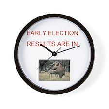 Unique Election results Wall Clock