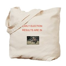 Cute Election results Tote Bag