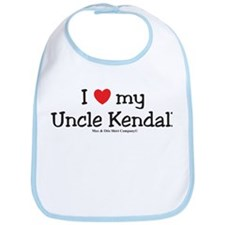 I Love My Uncle Kendall Bib