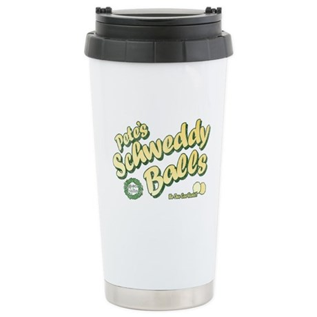 Schweddy Balls SNL Stainless Steel Travel Mug