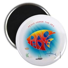 Peace Under The Sea Magnet