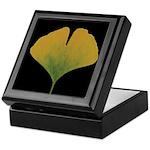 Fall Ginkgo Leaf Keepsake Box