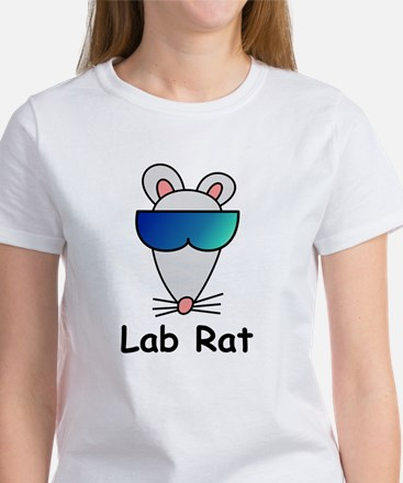 Lab Rat molecularshirts.com Women's T-Shirt