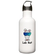 Lab Rat molecularshirts.com Water Bottle