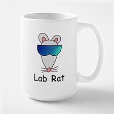 Lab Rat molecularshirts.com Large Mug