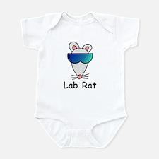 Lab Rat molecularshirts.com Infant Bodysuit