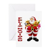 Feliz navidad in spanish Greeting Cards