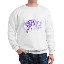 Heart Ribbon Cancer Jumper