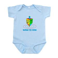 Dreidel Hanukkah Infant Bodysuit