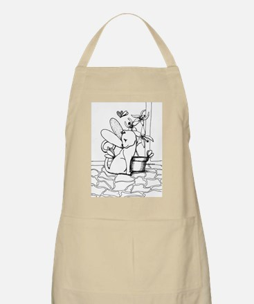 Wings and Orchids Apron