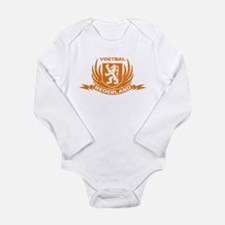 Voetbal Nederland Cres Long Sleeve Infant Bodysuit