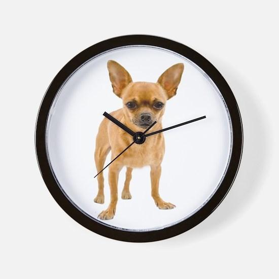 Chihuahua Stand Wall Clock